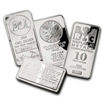10 oz Silver Bar (Secondary Market) .999 Fine