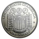 1992-D Olympic Baseball $1 Silver Commemorative - MS-69 PCGS