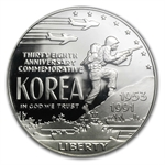 1991-P Korean War $1 Silver Commemorative - PR-69 DCAM PCGS