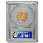 $2.50 Indian Gold Quarter Eagle - MS-61 NGC or PCGS