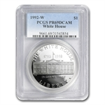 1992-W White House $1 Silver Commemorative - PR-69 DCAM PCGS