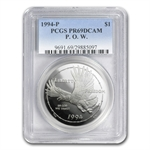 1994-P Prisoner of War $1 Silver Commemorative - PR-69 DCAM PCGS