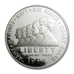 1994-P Women in Military $1 Silver Commem - PR-69 DCAM PCGS