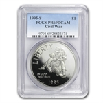 1995-S Civil War $1 Silver Commemorative - PR-69 DCAM PCGS