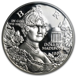 1999-P Dolley Madison $1 Silver Commemorative - PR-69 DCAM PCGS