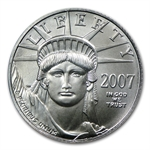 2007 1/10 oz Platinum American Eagle - Brilliant Uncirculated