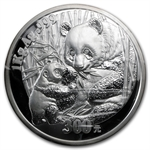 2005 (Kilo Proof) Silver Chinese Panda (W/Box & Coa)