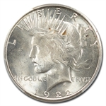 1922-S Peace Dollar MS-63 PCGS