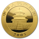 2005 1 oz Gold Chinese Panda MS-69 PCGS