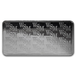 10 oz Wall Street Mint Silver Bar .999 Fine (Type 1)