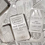 1 oz Silver Bar (Secondary Market) .999 Fine