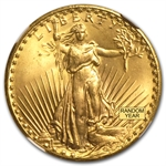 $20 Saint-Gaudens Gold Double Eagle - MS-66 NGC