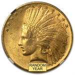 $10 Indian Gold Eagle - MS-63 NGC