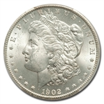 1902-S Morgan Dollar MS-64 PCGS