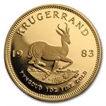 1983 1 oz Proof Gold South African Krugerrand