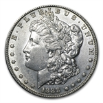 1888-S Morgan Dollar - Almost Uncirculated