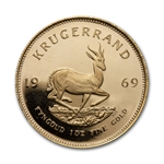 1969 1 oz Proof Gold South African Krugerrand