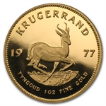 1977 1 oz Proof Gold South African Krugerrand