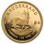 1984 1 oz Proof Gold South African Krugerrand