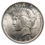 1923-D Peace Dollar MS-64 PCGS