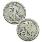 Walking Liberty Half Dollar Set (In Dansco Album) Complete