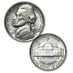1942-1945 Silver Wartime Nickel Set (Brilliant Uncirculated)