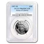 1997-W 1/2 oz Proof Platinum American Eagle PR-69 PCGS DCAM