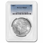 1897 Morgan Dollar - MS-65 PCGS