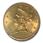 1903-O $10 Liberty Gold Eagle - MS-62 NGC