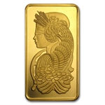 5 oz Gold Bar (Secondary Market) .999+ Fine