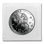 China 1997 (10 Yuan Unicorn) 1 oz. Silver Coin (Sealed)