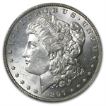 1897 Morgan Dollar - MS-63 NGC