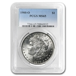 1900-O Morgan Dollar - MS-65 PCGS