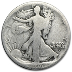 1916-D Walking Liberty Half Dollar - Almost Good