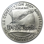 1987-P Constitution $1 Silver Commemorative - MS-69 PCGS