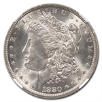 1880 Morgan Dollar - MS-63 NGC