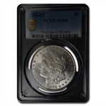 1878-CC Morgan Dollar - MS-64 PCGS