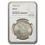 1903-O Morgan Dollar MS-63 NGC