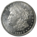1921 Morgan Dollar - MS-62 NGC