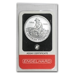 1 oz Engelhard Prospector Platinum Round (In Assay) .9995 Fine