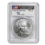 1998-S Black Patriots $1 Silver Commemorative - MS-69 PCGS