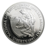 1997-P Law Enforcement $1 Silver Commemorative - PR-69 DCAM PCGS
