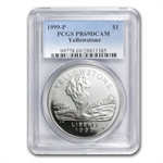 1999-P Yellowstone Park $1 Silver Commemorative - PR-69 DCAM PCGS