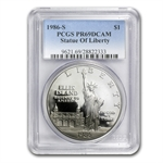 1986-S Statue of Liberty $1 Silver Commem - PR-69 DCAM PCGS