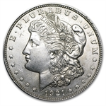 1921-P, D, or S Morgan Silver Dollar (Almost Uncirculated)
