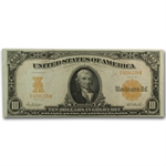 Series 1907 $10 Gold Certificate (VF/EF)