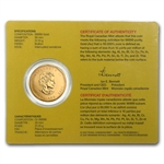 2007 1 oz Gold Canadian Maple Leaf .99999 Fine (W/Assay Card)