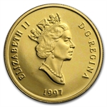 Canada 1997 $100 1/4oz Gold Proof - Alexander Graham Bell