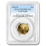 1995-W 1/4 oz Proof Gold American Eagle PR-70 PCGS