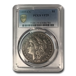 1889-CC Morgan Dollar Very Fine-25 PCGS